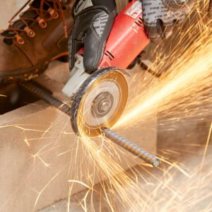 how to cut metal with angle grinder